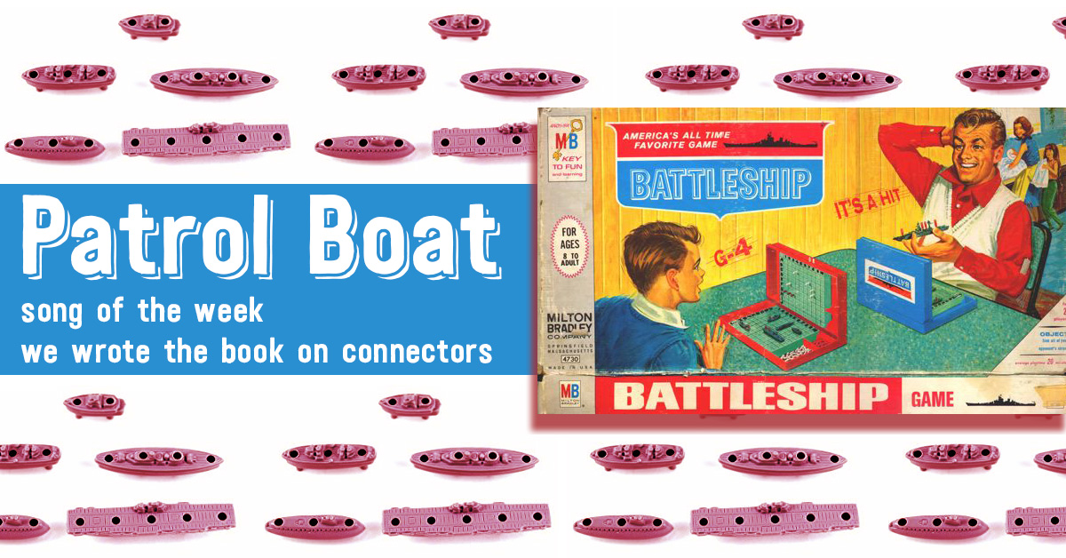 Patrol Boat - We Wrote the Book on Connectors